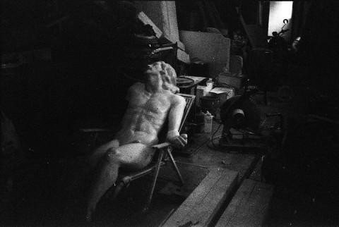Dans l'atelier d'un charpentier
